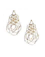 ROMANTICA GOLD EARRINGS BY SERAFINO